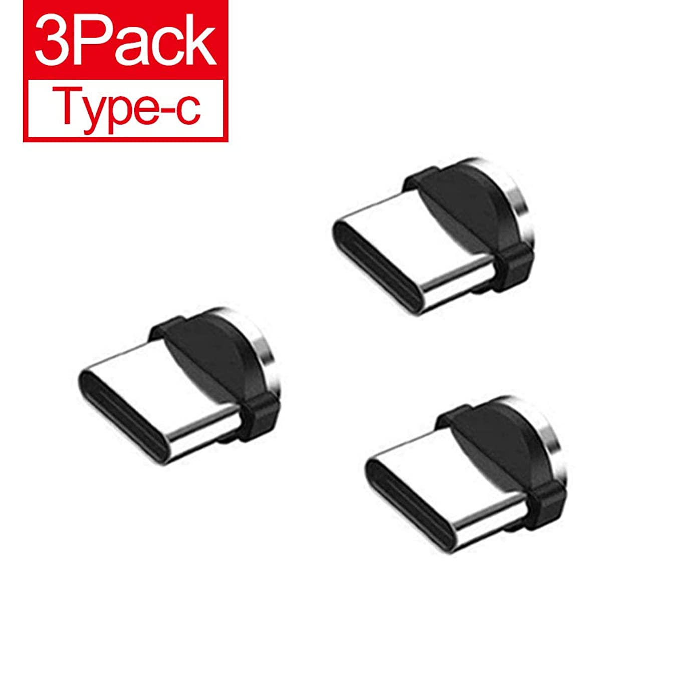 Magnetic Phone Cable Adapter Connector Tips Head for Type-c