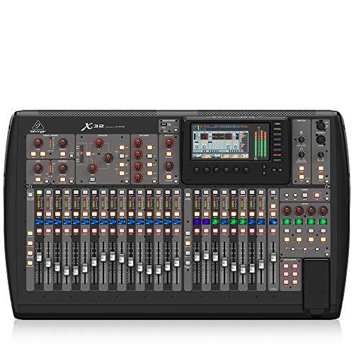 BEHRINGER, 32 40-Input 25-Bus Digital Mixing Console, Black (X32). Buy it now for 1999.00