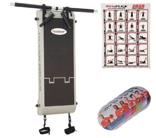 GymFlex Total Body Transformer Gym w/6 Workout DVDs
