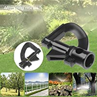 庭の灌漑 10PCS G型ロータリー芝生の水まきマイクロスプリンクラーヘッドガーデンノズルじょうろスプリンクラーのために庭園や芝生灌漑スプレー