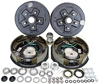Southwest Wheel 3,500 lbs. Trailer Axle Self Adjusting Electric Brake Kit 5-4.5 Bolt Circle