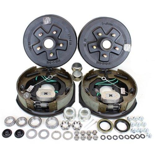 "Southwest Wheel 3,500 lbs. Trailer Axle Self Adjusting Electric Brake Kit 5-4.5"" Bolt Circle"