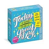 RKL Art Font Calendario de Escritorio 2021 Calendario de Papel Revestido con Soporte de plástico Se Puede Utilizar para Regalos de cumpleaños/Vacaciones de Amigos
