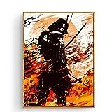 Japan Last Samurai Standing Kunst Leinwand Poster