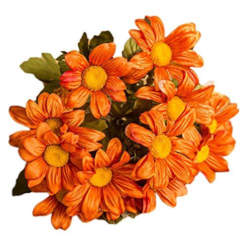 Cutogain Plants Simulation Dried Flowers Bouquets Home Art Decoration Living Room DIY Kitchen Table Decor