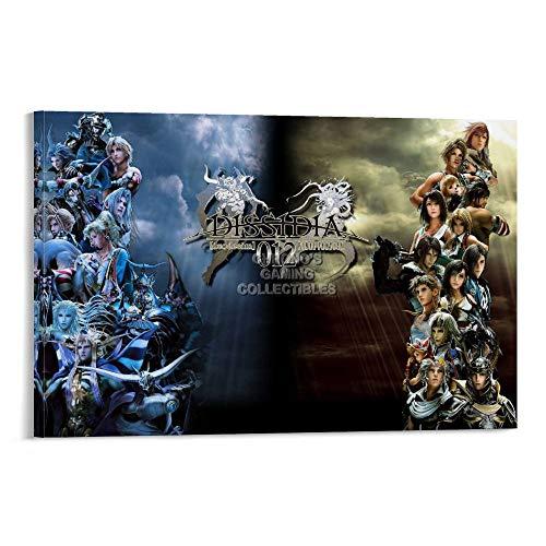 AISHNI Dissidia 012 Duodecim Final Fantasy - Lienzo decorativo para pared (50 x 75 cm)