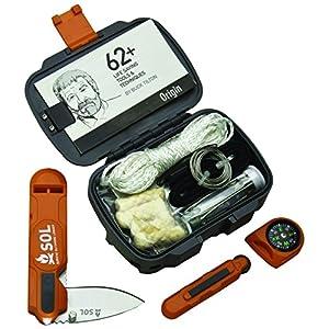 S.O.L. Origin Waterproof Survival Tool Kit