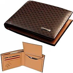 حافظة جلدية فاخرة مصنوعة يدويًا من الجلد الأصلي للرجال - محفظة على الطراز الأوروبي - جلد عالي الجودة