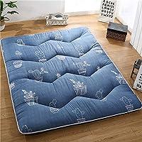 QingT Colchón, colchón, cojín Plegable, Respaldo Acolchado, colchón de Dormitorio@80x190_Sol