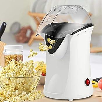 Homdox 1200W Electric Hot Air Popcorn Popper Maker