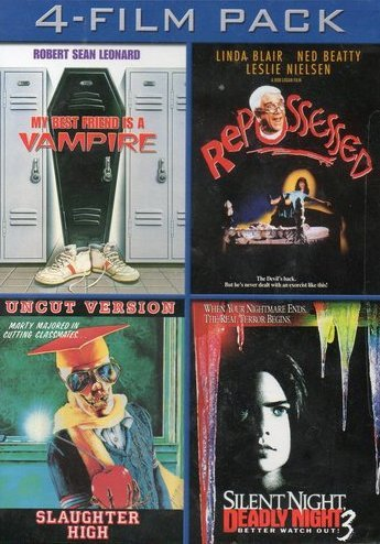 My Best Friend Is A Vampire / Repossessed / Slaughter High / Silent Night, Deadly Night 3 (4-Film Pack)