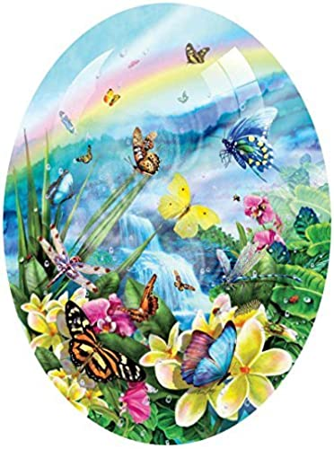Butterfly Visions a 600-Piece Jigsaw Puzzle by Sunsout Inc. by SunsOut