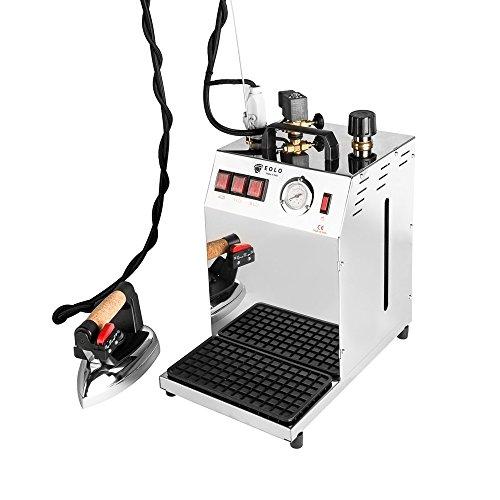 EOLO Centro de Planchado Profesional GV06 INOX con Caldera de Cobre y Ahorro de energía. Resistencia Externa antical (5 L.)