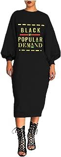 black by popular demand dress