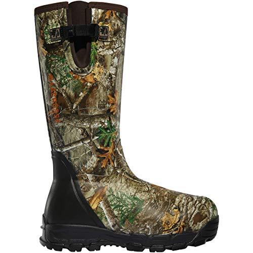 Lacrosse mens Rubber Boot Hunting Shoe, Realtree Edge, 11 US