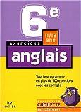 Chouette Entraînement - Anglais, 6e - 11-12 ans (+ corrigés)