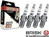 Brisk Premium Evo DR14BSXC 1925 Zündkerzen, 4 Stück