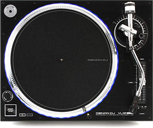 Check Out This Denon DJ VL12 Prime Direct-Drive Turntable (2-pack) Value Bundle
