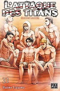 L'Attaque des Titans Edition limitée Tome 33