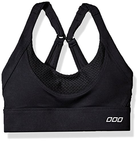 Lorna Jane Damen Sport-BH, hohe Intensität, Damen, schwarz, X-Small
