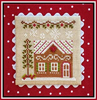 Gingerbread Village 10-Gingerbread House 7 Chart and Button