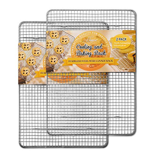 Hiware 2-Pack Cooling Racks for Baking - 10