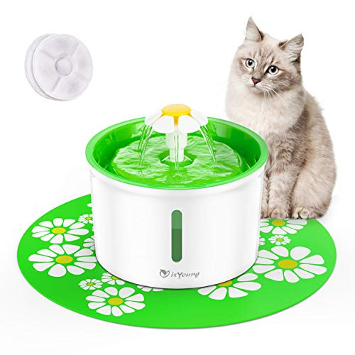 isYoung Automatic Cat Water Fountain