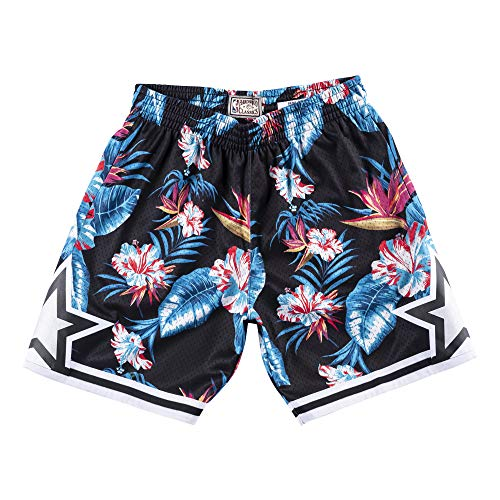 Mitchell & Ness Floral Swingman Shorts O. Magic, floral (S)