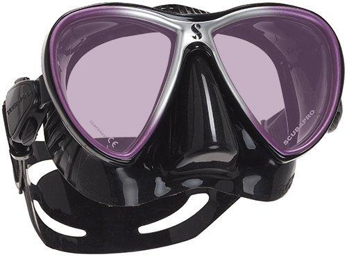 Scubapro Synergy Trufit Mirrored Twin Lens Mask (Purple/Black)