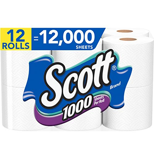Scott 1000 Sheets Per Roll