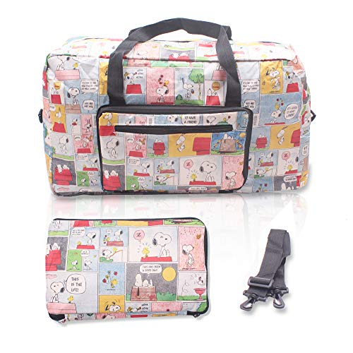 Finex Snoopy Foldable Easy-to-carry Travel Bag for airplanes with adjustable strap - Random Color