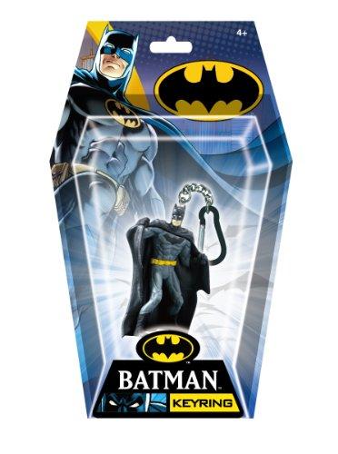 DC Batman Defending PVC Figural Key Ring,Multi-colored