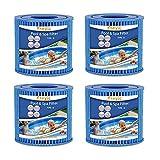 Kseyic Cartucho de filtro de piscina tipo D, para Bestway VII y para filtro Intex D, cartucho de repuesto para filtro de piscina SFS-350 (4 unidades)