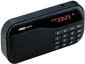Portronics Plugs POR-141 Portable Speaker with FM & MicroSD Card Support (Black)