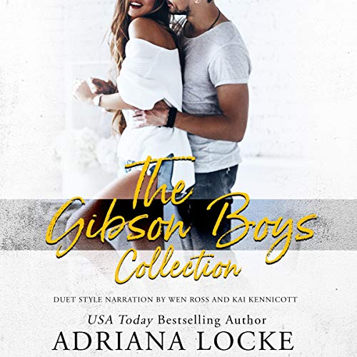 The Gibson Boys Collection audiobook cover art