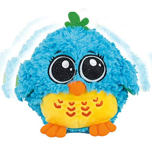 My Dancing and Singing Bird Mr. Blue - Musical Toys for Toddlers and Infants. Baby Singing Funny Owl Toy. Sound and Touch Activated Blue Bird Toy for Girls and Boys, Age 6 Months to 6 Years Old