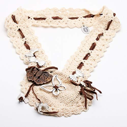 Collar Anna Biblò Milano Collier Cuello Crochet Summer Collection