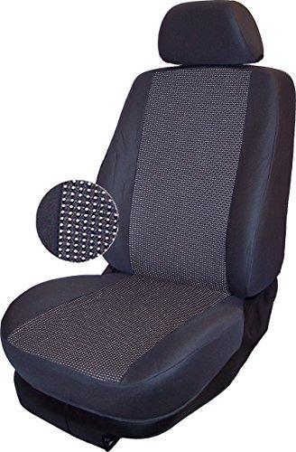 Autokleidung Sitzbezüge T5 Multivan (VS-G0415900), Vordersitzgarnitur, maßgefertigt, Schonbezüge nach Maß, Farbe GRAU 04
