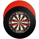 GOKarli Wandschutz Dartboard Surround Dart Catchring Auffangring für alle Dartscheiben (Rot)