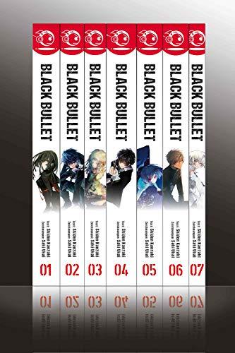 Black Bullet – Light Novel, Bände 1 bis 7