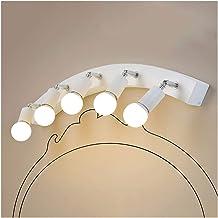 & Led-spiegellamp, spiegellicht, instelbare richtingspiegel-voorlicht, led-lampen, badkamerkleedcabine, spiegelkast, water...