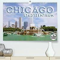 CHICAGO Stadtzentrum (Premium, hochwertiger DIN A2 Wandkalender 2022, Kunstdruck in Hochglanz): Die markante US-Metropole (Geburtstagskalender, 14 Seiten )