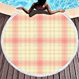 Toalla de Manta de Playa Redonda, Toallas de Playa para Mujer, Toalla de Playa...