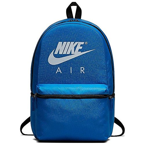 Nike NK AIR BKPK, Unisex Adults' Backpack, Multicolour (Signal Blue/Black/Wh), 15x24x45 cm (W x H L)
