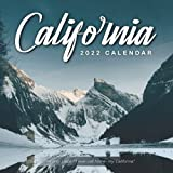 """California 2022 Calendar: From January 2022 to December 2022 - Square Mini Calendar 8.5x8.5"""" - Small Gorgeous Non-Glossy Paper"""
