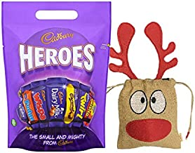 Cadbury Heroes Christmas Bag 400g | British Christmas Candy Cadbury Chocolate UK | British Christmas Shop | Imported from UK