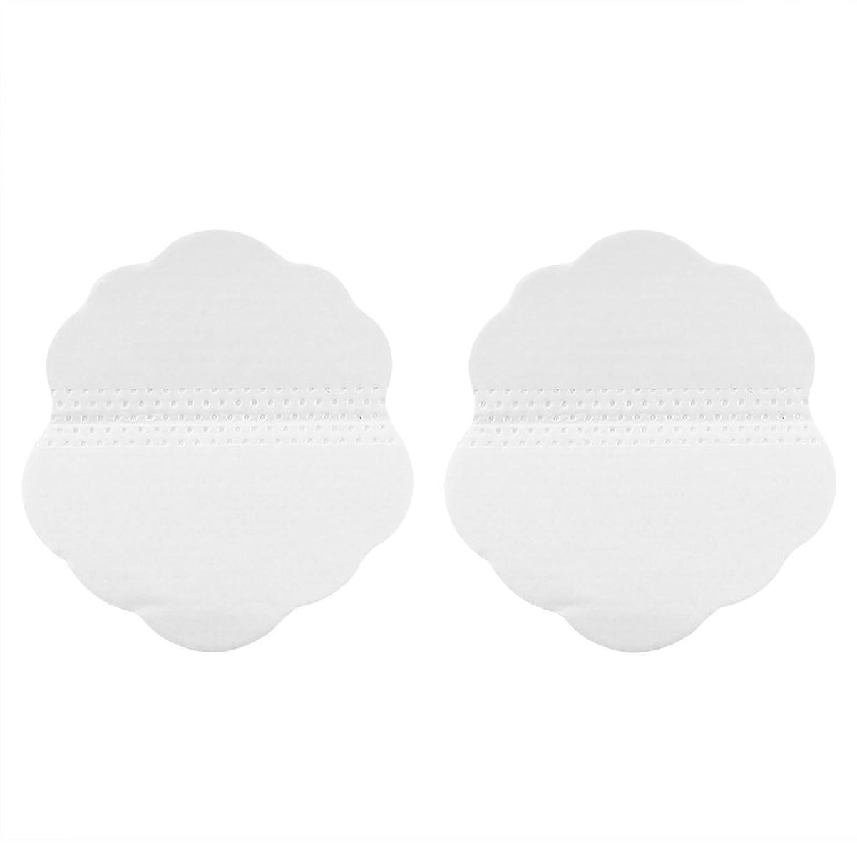 氷世界記録のギネスブック曲線脇の下は汗パッドを防ぎます、30組の折り畳み式の使い捨て可能な5点形の脇の下の衣服の保護吸収の蒸散盾(60個)