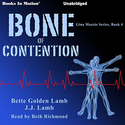 Bone of Contention audiobook cover art