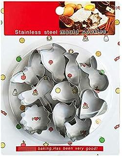 Cookie cutter Animal emporte piece patisserie 10 Pièces, ustensiles à pâtisserie en acier inoxydable bricolage,utilisé pou...