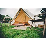 Bell Tent 4 metre with zipped in groundsheet by Bell Tent Boutique 2